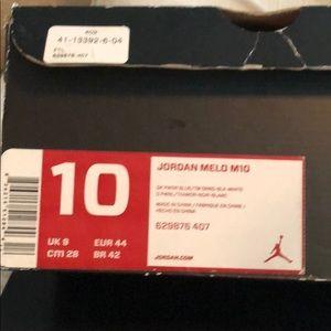 Men's Nike Air Jordan Melo M10 Sneakers
